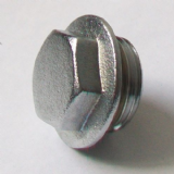 "1/2"" Chrome Plated Brass Male Threaded Plug - 25950100"
